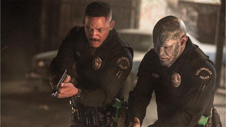 Hoofdrolspeler in Bright Will Smith had eerder veel succes met Bad Boys en Men In Black. Beeld Netflix