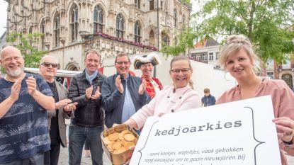 'Kedjoarkies' is verkozen tot het mooiste dialectwoord van Oudenaarde: het wafeltje krijgt meteen een biersoort en een ijsje
