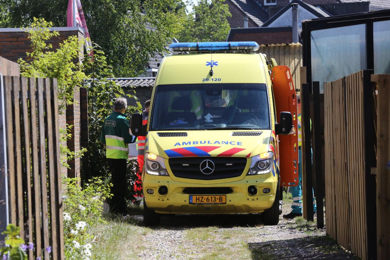 Ongeluk in Roosendaal.
