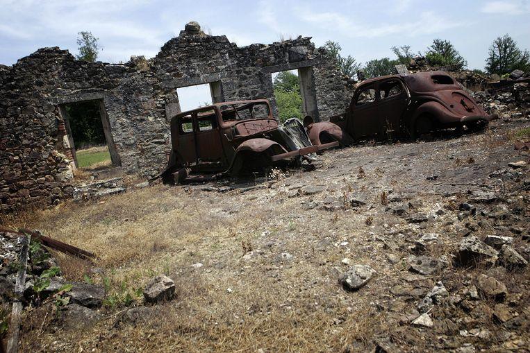 Oradour-sur-Glane ligt er tot vandaag bij zoals de nazi's het dorp in juni 1944 achterlieten.