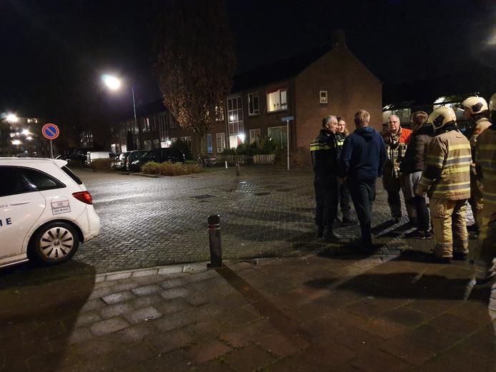 De brandweer rukte uit naar de woning in Soesterberg