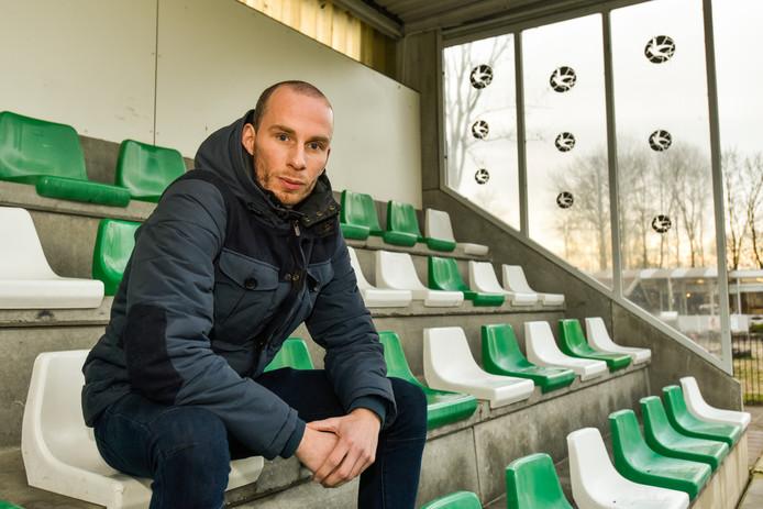 Jamy Goemaat is bezig aan zijn derde seizoen bij Woudrichem.