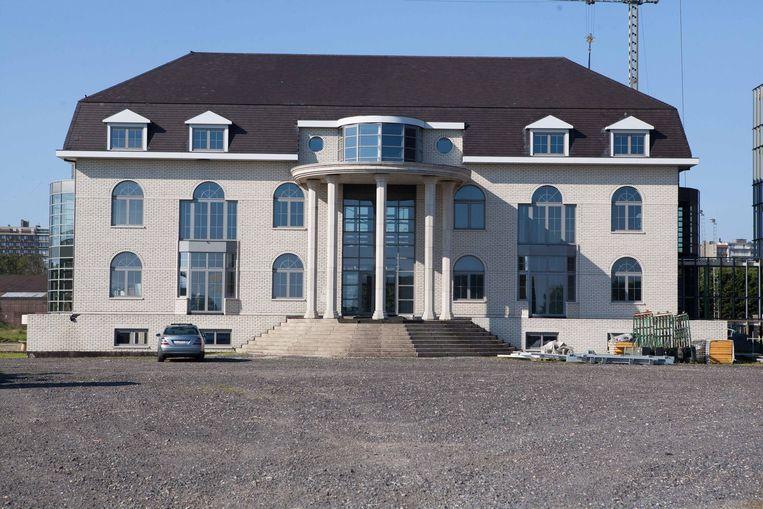 De diefstal vond plaats in het tijdelijke casino langs de Westendelaan.