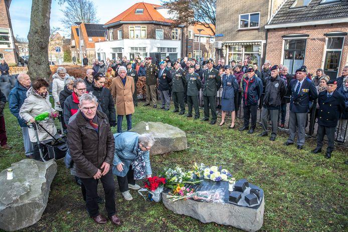 Herdenking van het bombardement in Dieze-West.