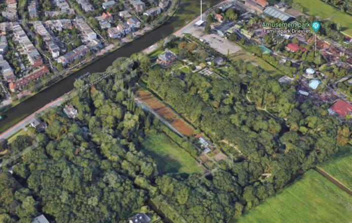 463 bomen tussen Landgoed Vredenoord en het Molenslootpad, naast familiepark Drievliet, worden mogelijk gekapt.