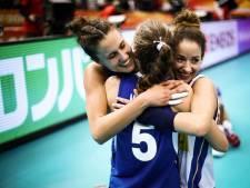 Volleybalsters treffen Italië of Servië