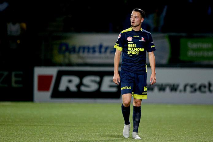 Joeri Poelmans werd door Wil Boessen al voor rust naar de kant gehaald.