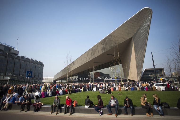 Rotterdam Centraal nu. Beeld FTP