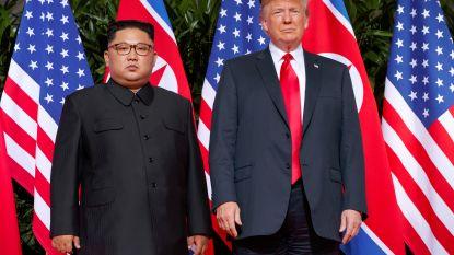 """Trump stelt tweede top met Kim Jong-un in het vooruitzicht: """"Mooie brief gekregen, snel nieuwe top"""""""