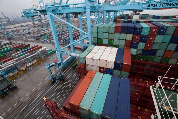 De haven van Zeebrugge blijft transmigranten aantrekken.
