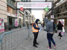 Deux hommes blessés à la suite d'une bagarre rue Neuve à Bruxelles mercredi
