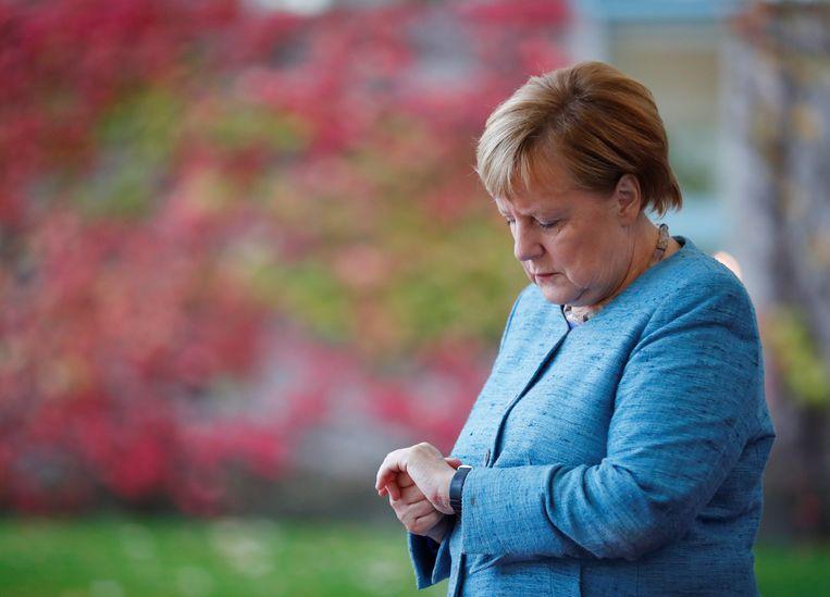 Angela Merkel  Beeld REUTERS