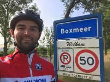 Duitsland was een brug te ver, maar Martijn ligt op schema voor 300 kilometer voor MS Research