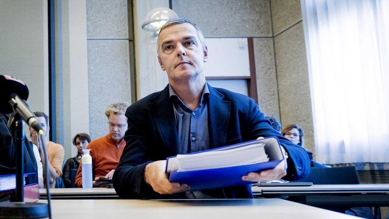 Voormalig manager Jacques Hanegraaf van oud-wielrenner Thomas Dekker heeft een kort geding aangespannen tegen auteur Thijs Zonneveld en uitgeverij Overamstel van de biografie Mijn Gevecht van Dekker. Beeld anp