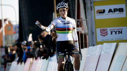 Sanne Cant pakt in Denemarken ondanks kettingproblemen tweede WB-zege van het seizoen