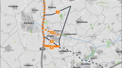 Vier mogelijke routes voor Ventilus-hoogspanningslijn boven Izegem
