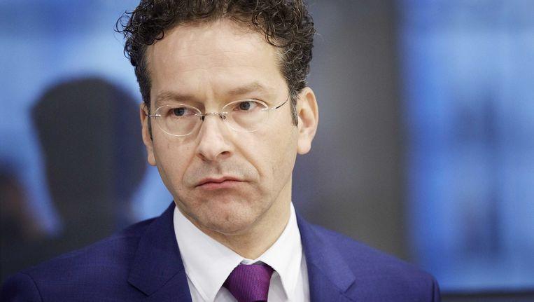 Jeroen Dijsselbloem, minister van Financiën. Beeld EPA