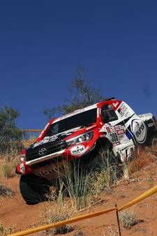 Bernhard ten Brinke uit Dakar Rally