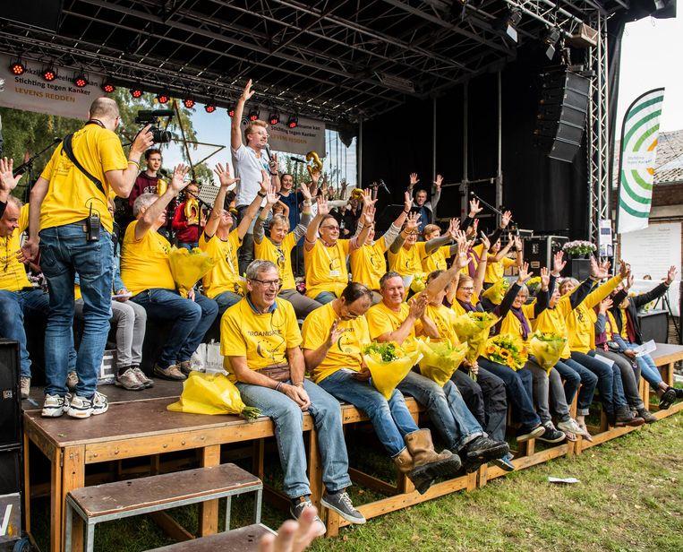 De organisatie van Levensloop Edegem in 2018.