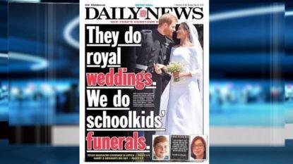 """""""Zij vieren royal weddings, wij begraven schoolkinderen"""""""