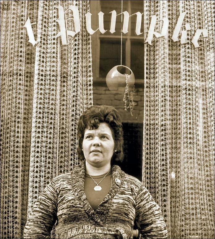 Bertha Hertogh in haar latere leven in Bergen op Zoom