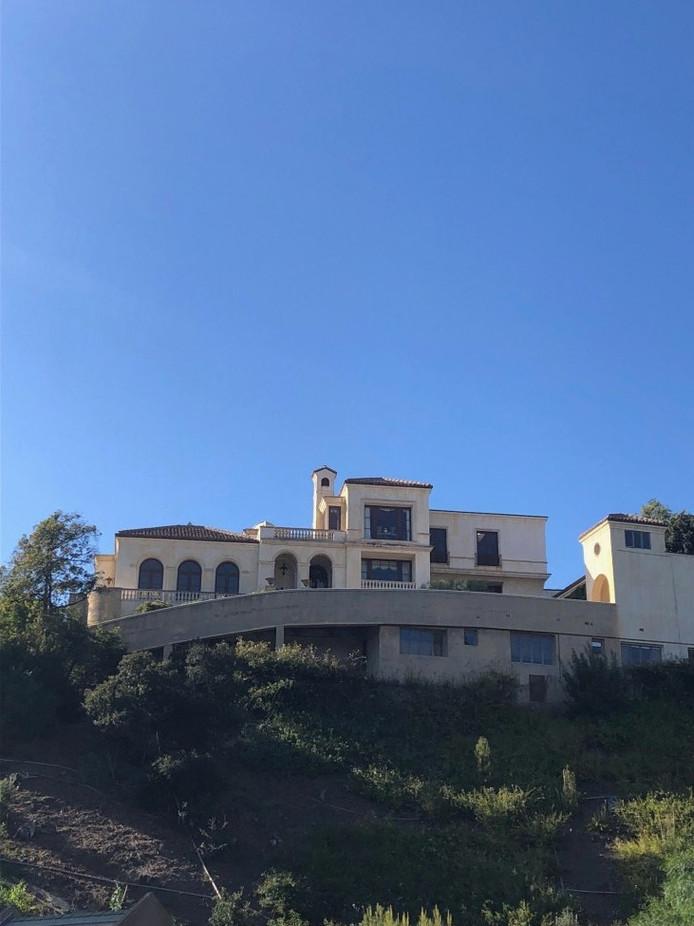 La Greystone Mansion à Beverly Hills.