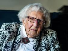 Maria Piël (101) woont pal naast gesloopte flat: 'Lawaai viel mee, de stress niet'