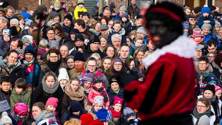 Kick Out Zwarte Piet komt ook naar de intocht van Sinterklaas Beeld ANP