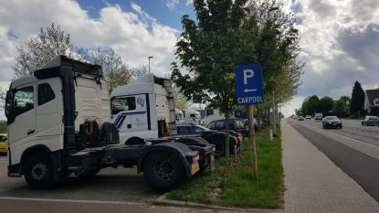 Vrachtwagenverbod op carpoolparkings