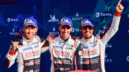 Drie op drie voor Fernando Alonso en Toyota in Zes Uur van Silverstone