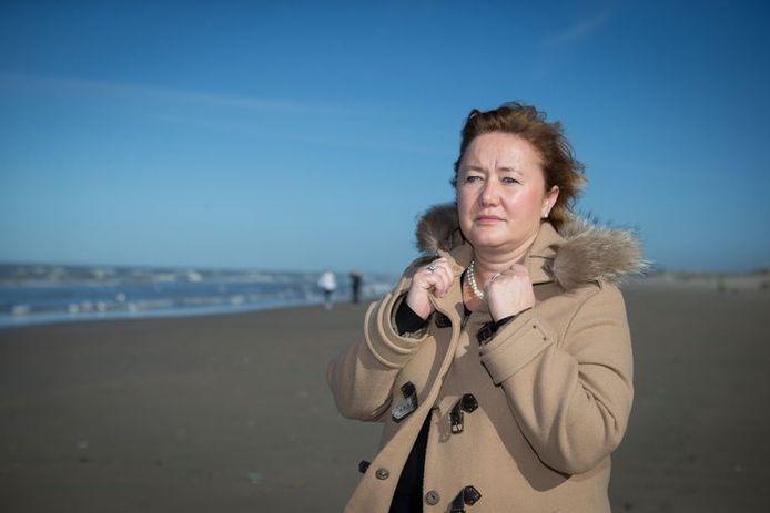 La gouverneure intérimaire de Flandre occidentale Anne Martens