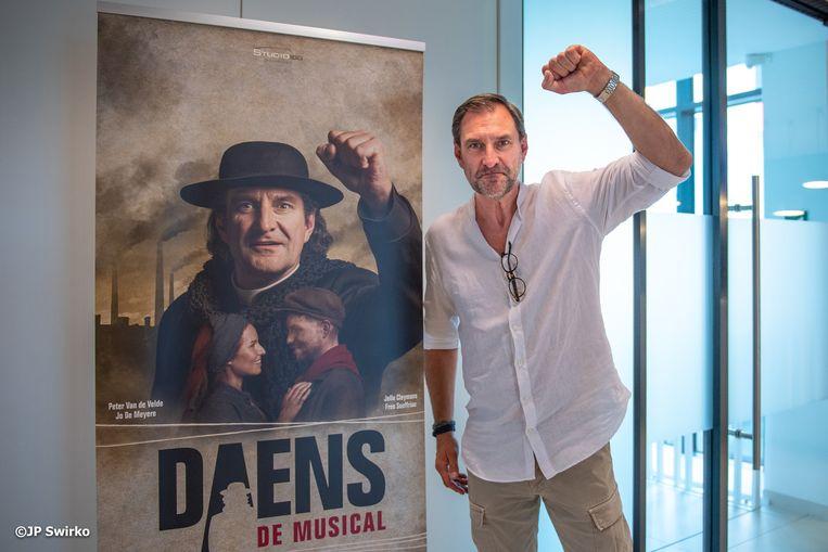 Acteur Peter Van De Velde.