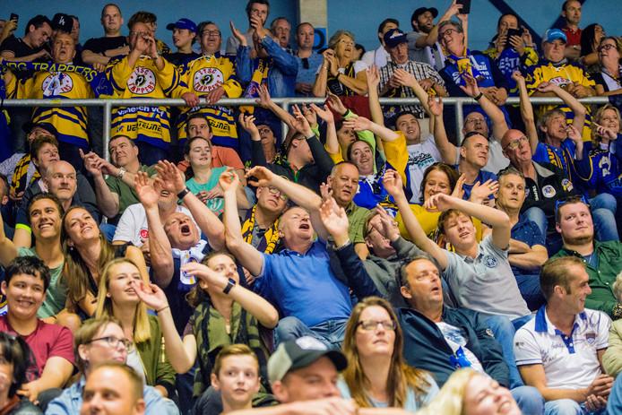 Trappers verwacht weer een volle bak in de thuiswedstrijden tegen EV Landshut.
