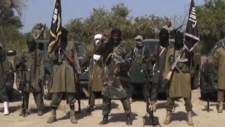 Boko Haram-soldaten. Beeld anp