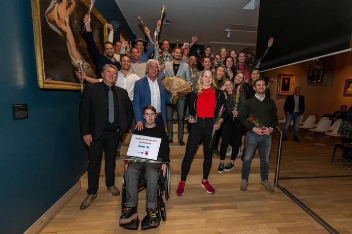 De winnaars van de Dordt Sport Verkiezing.