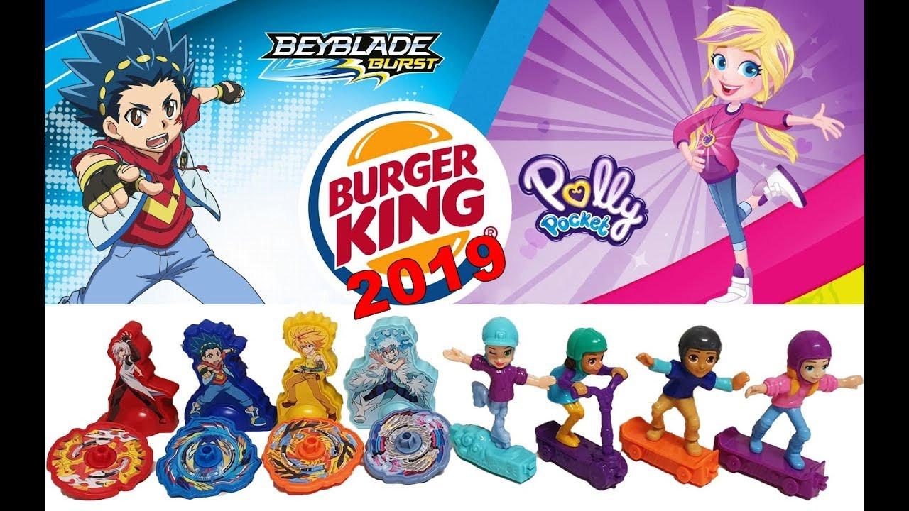 Speeltjes die kinderen nu krijgen bij hun King Jr Meal