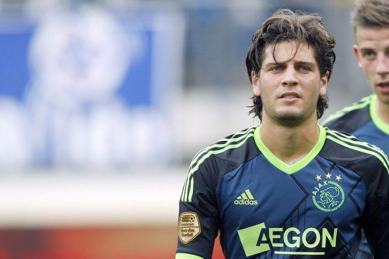 Ilan Boccara speelde zich bij Ajax nooit in de basis. Beeld PRO SHOTS