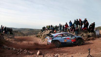 Ott Tänak houdt Thierry Neuville van zege in Rally van Argentinië