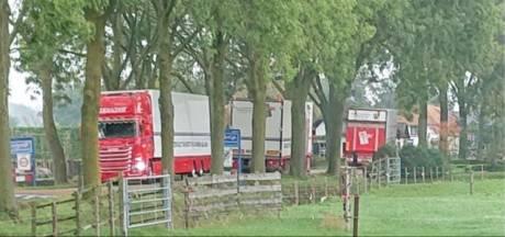 Bruchem en Kerkwijk bezorgd over vrachtverkeer