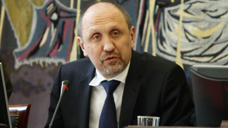 Minister van de Noordzee Johan Vande Lanotte (sp.a).