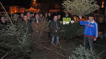Krottegem zet 2019 in met nieuwjaarstoast, kerstboomverhakseling en afterparty