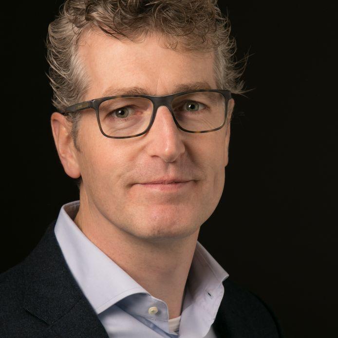 Marc van Dongen, sinds 1 juni rector van het Augustinianum in Eindhoven.