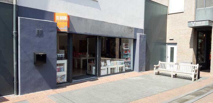 Winkel Breedband Helmond is tijdelijk ingevuld door een woonwinkel.