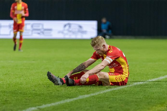 Richard van der Venne is vrijdag geschorst bij Go Ahead Eagles