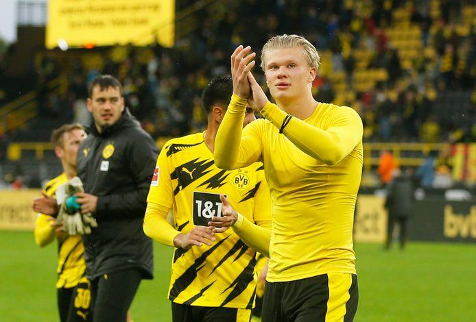Erling Haaland scoorde 2 keer