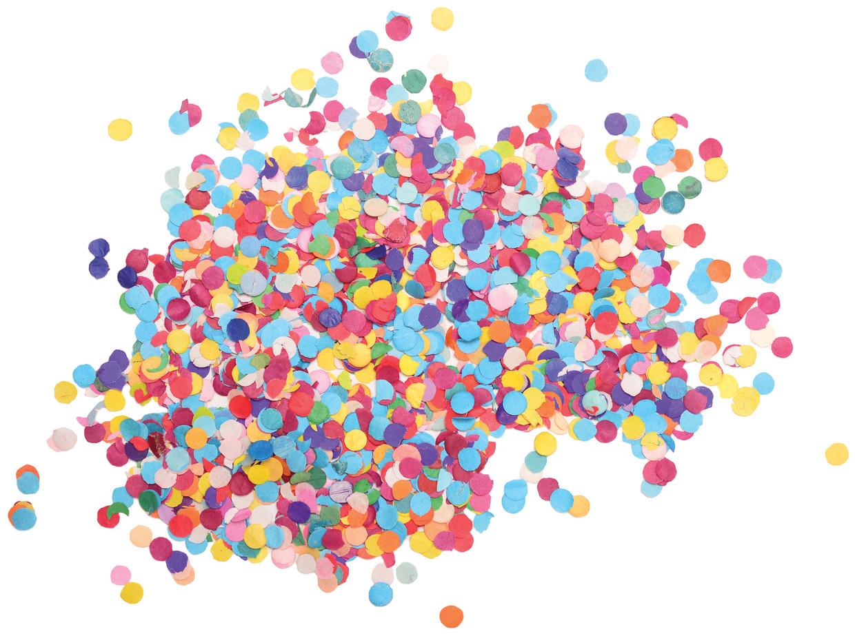 Confetti Beeld