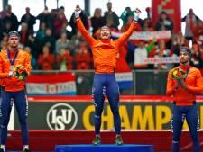 Nederland verstevigt leiding in medaillespiegel na 'clean sweep'