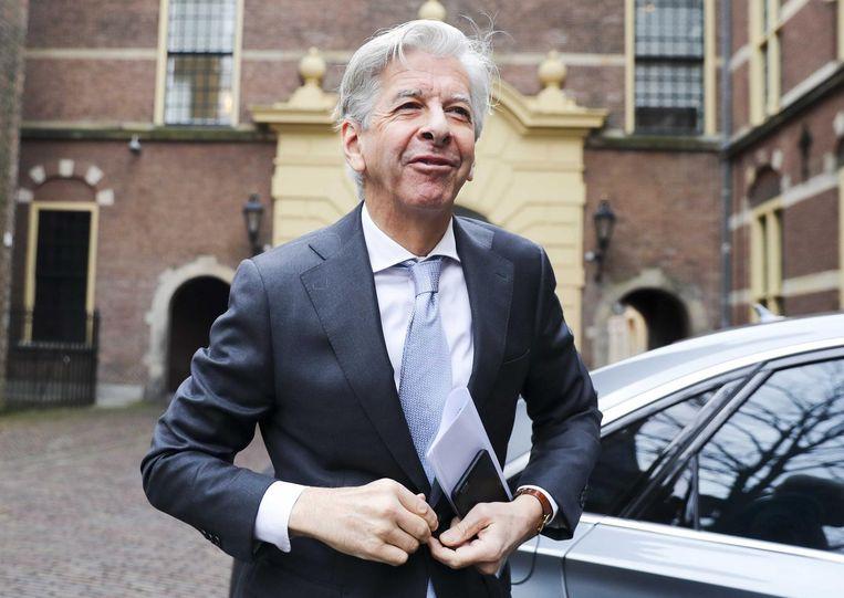 Minister Plasterk. Beeld anp