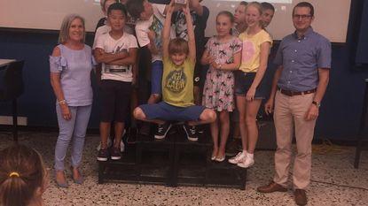 Basisschool Centrum wint Jeugdquiz in de Middenschool