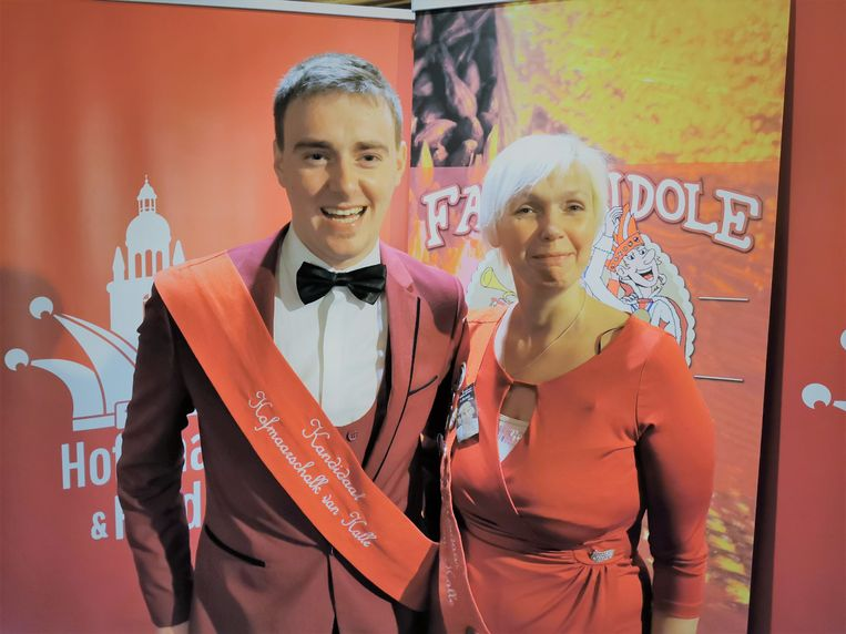 Dan worden Cédric Heremans en Peggy Mertens voorgesteld als nieuw hofmaarschalkenpaar.